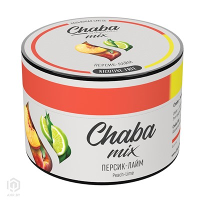 Купить Chaba 50 г Персик-Лайм без никотина за 8,49 в магазине Кальянная Республика