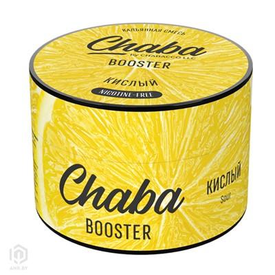 Купить Chaba Booster 50 г Кислый без никотина за 8,49 в магазине Кальянная Республика