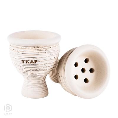 Купить Чаша Classic Y.K.A.P. white за 17,99 в магазине Кальянная Республика
