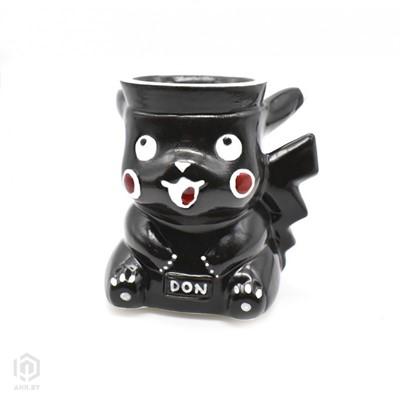Купить Чаша для кальяна DON Anime Pika Black за 67,49 в магазине Кальянная Республика