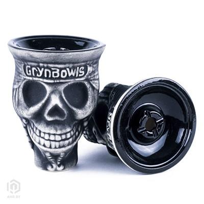 Купить Чаша для кальяна GrynBowls Skull за 33,00 в магазине Кальянная Республика