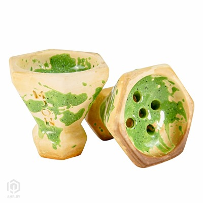 Купить Чаша для кальяна Moon Grand Cap Kiwi за 24,99 в магазине Кальянная Республика