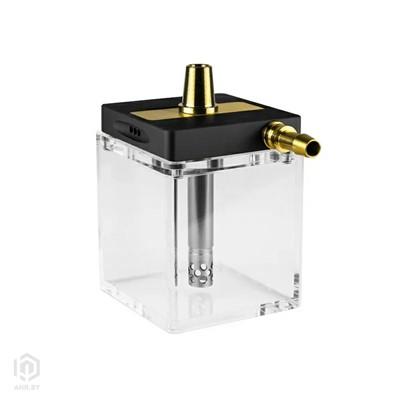 Купить Кальян Hoob subAtom Black с прозрачной колбой за 324,99 в магазине Кальянная Республика