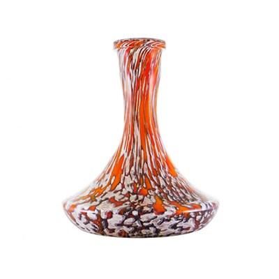 Купить Колба для кальяна HookahTree C3 серый+оранжевый за 61,80 в магазине Кальянная Республика