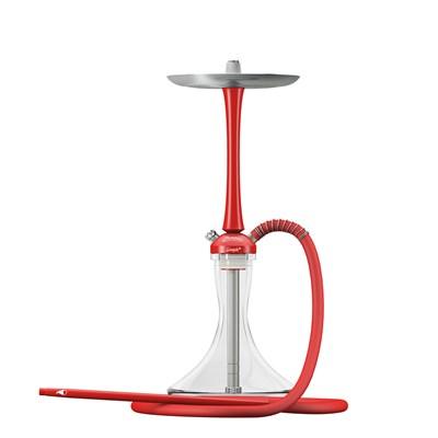 Купить Шахта для кальяна MattPear Simple M Red Slim комплект за 329 в магазине Кальянная Республика