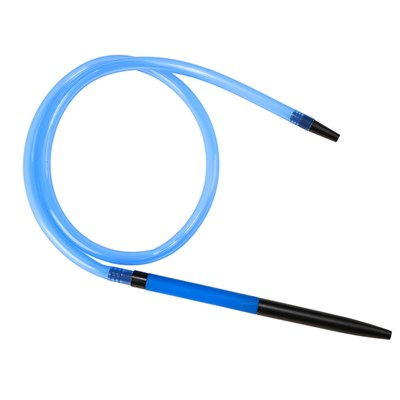 Купить Шланг для кальяна АртКальян HP-46B в сборе синий за 28,5 в магазине Кальянная Республика