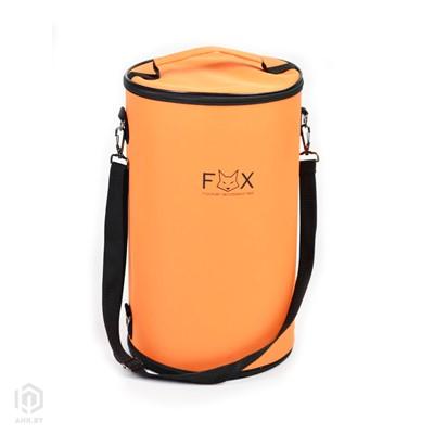 Купить Сумка для кальяна FOX оранжевая за 104,99 в магазине Кальянная Республика