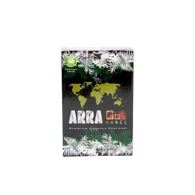 Купить Уголь для кальяна ARRA Cubes 1 кг 72шт 25мм за 11,5 в магазине Кальянная Республика