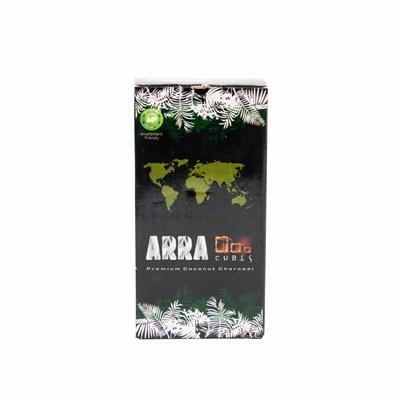 Купить Уголь для кальяна ARRA Cubes 1 кг 96шт 22мм за 11,5 в магазине Кальянная Республика