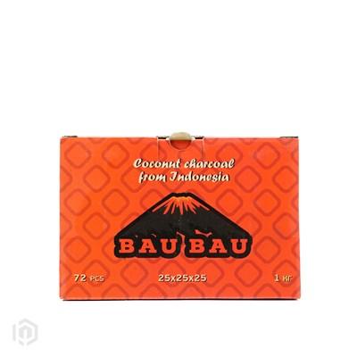 Купить Уголь кокосовый Bau Bau 1кг 72шт 25мм за 11,50 в магазине Кальянная Республика
