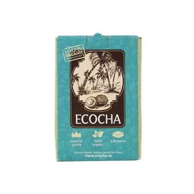 Купить Уголь кокосовый Ecocha 108 шт за 10,90 в магазине Кальянная Республика
