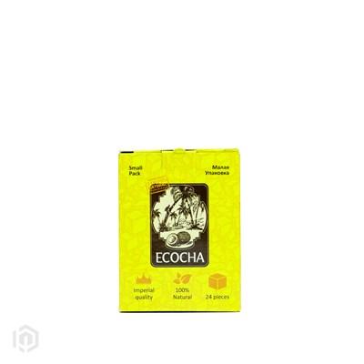 Купить Уголь кокосовый Ecocha 24 шт за 3,90 в магазине Кальянная Республика