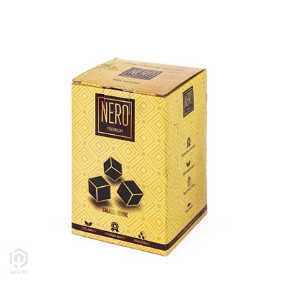 Купить Уголь кокосовый Nero 1кг 96шт 22мм за 13,00 в магазине Кальянная Республика